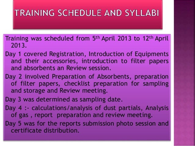 Equipments required for the training were introduced by Mr. Sanjeev singh and Mr. mukesh singh. Equipments required are: R...