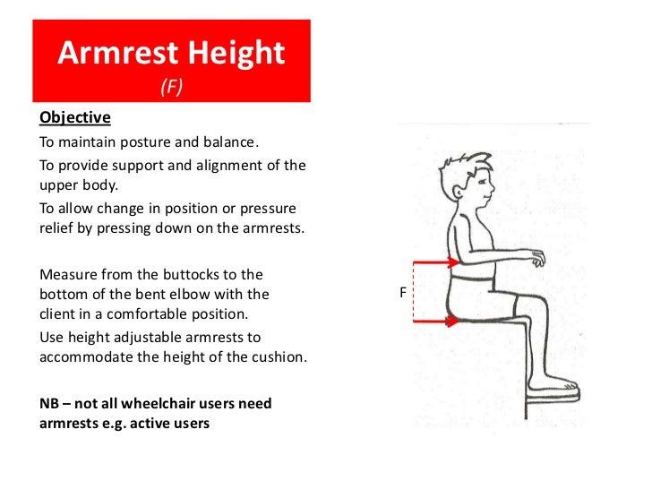 Measurements For Prescription Of Wheelchair