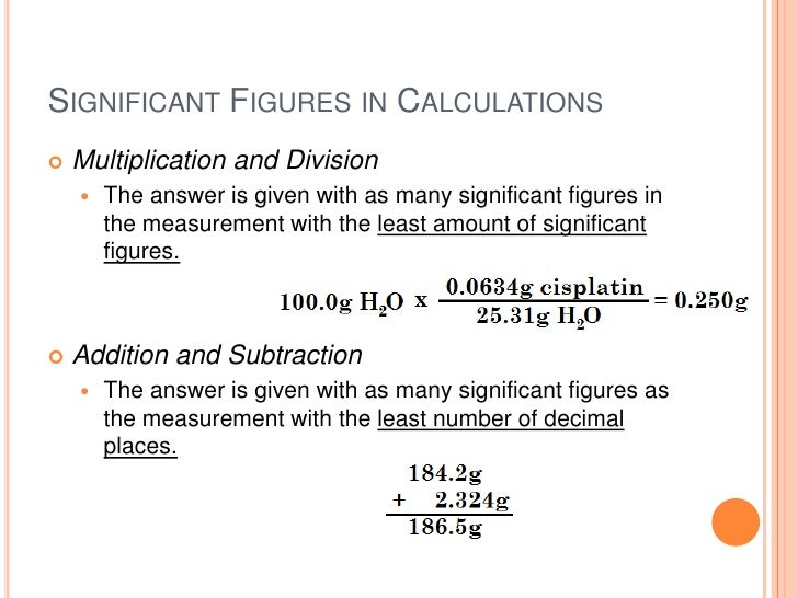 """significant figures in measurement and calculations essay 33 chapter 3 – significant figures overview """"significant figures"""" is a term that refers to the number of digits in an experimentially derived number that give useful information about the data."""