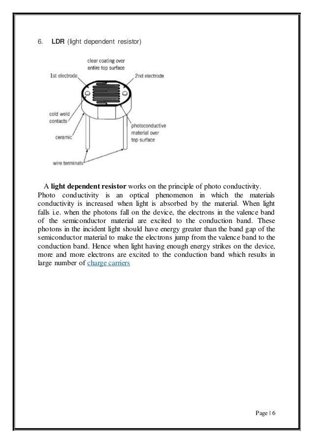 A Measurements Project on Light Detection sensor