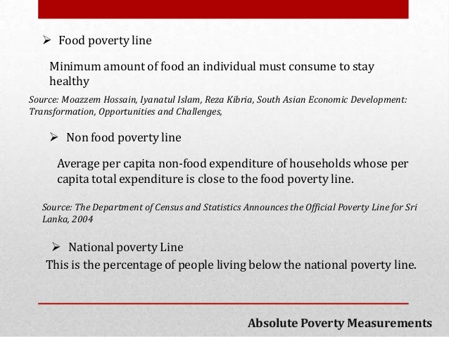 an analysis of composite indicators of poverty and living standards in society Summary composite indicators are increasingly used for bench‐marking  countries' performances yet doubts are often raised about the.