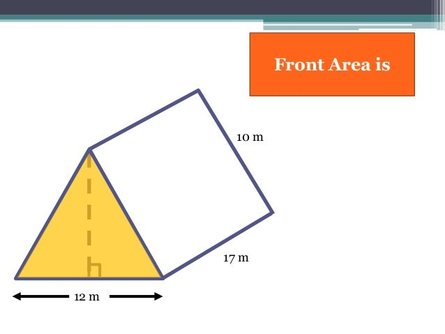 surface area of a triangular prism Surface area of a triangular prism step by step lesson to find the triangular prism surface area below are the steps explaining how to find the surface area of a triangular prism.