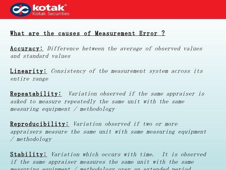 Measurement system analysis Slide 3
