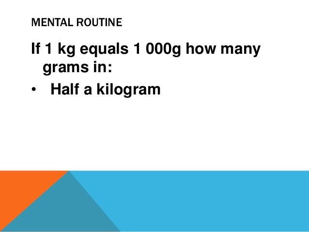 Kilogram 4