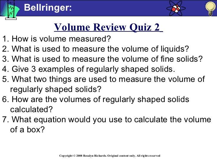 Measurement Volume Share Bst2009