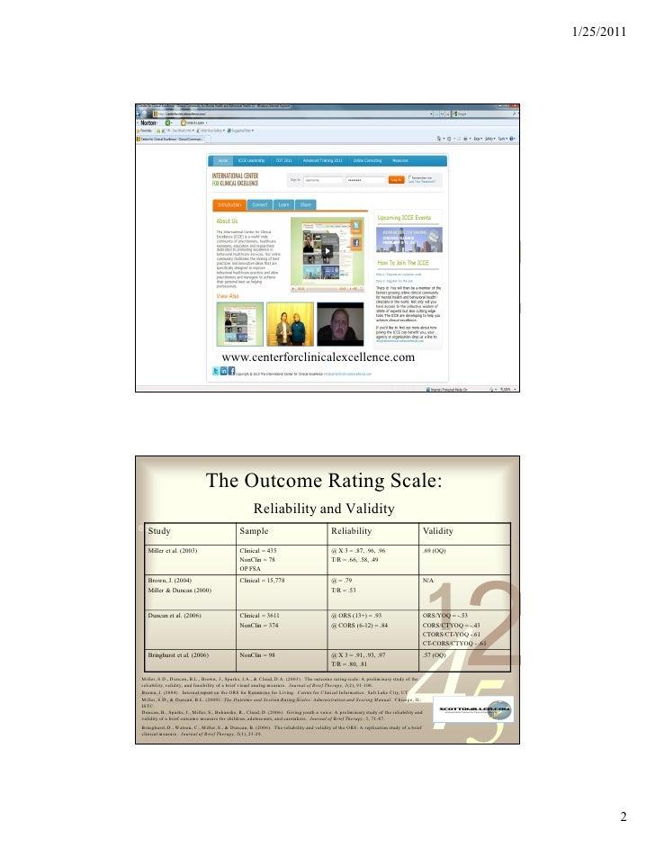 Measures and Feedback January 2011 Slide 2