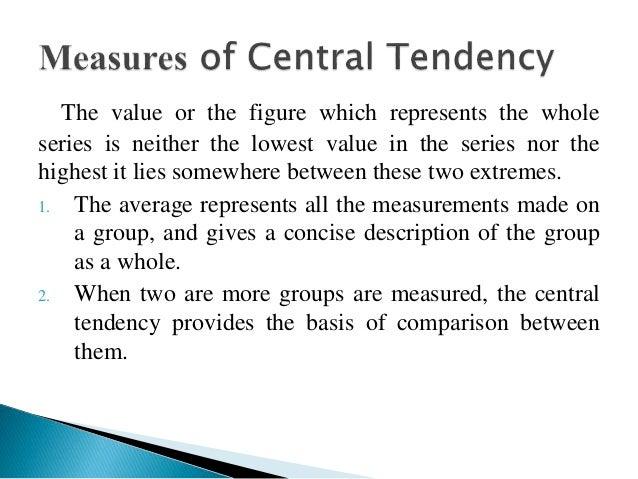 Central Tendency Elita Mydearest Co