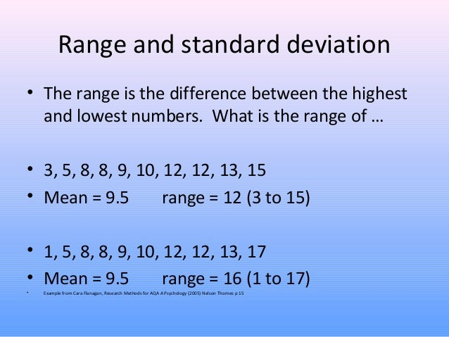 Measures of central tendency dispersion