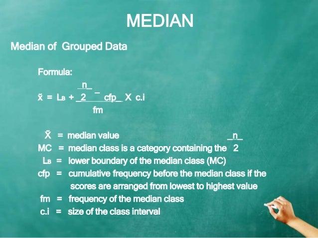 Mean median mode measures of central tendency median ccuart Images