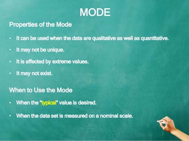 application of mean median mode Title: mean, median, mode (medical fields) objectives students will be able to collect data and determine mean, median, mode, and range time frame to complete.