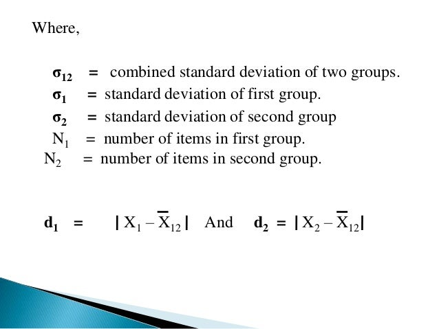 PROPERTIES OF THE STANDARD DEVIATION:-   The sum of squares of the deviation of all observation from arithmetic mean is  ...
