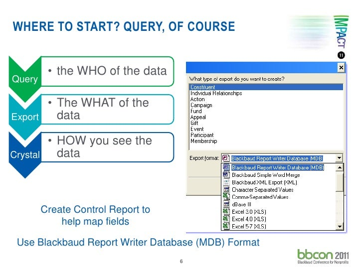 Measure the right stuff with crystal reports bb con 2011