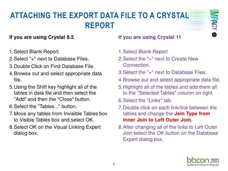 crystal reports 8.5 failed to export the report pdf