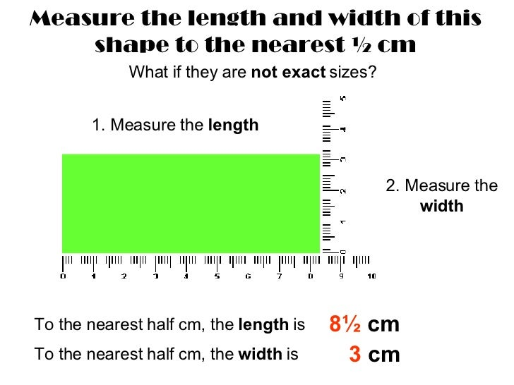 Drawing Lines To Nearest Cm : Measuring nearest half cm mm