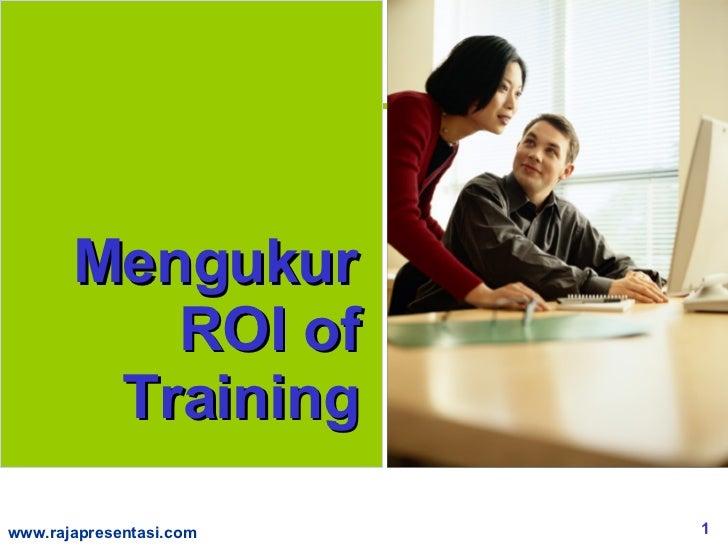 Mengukur ROI of Training