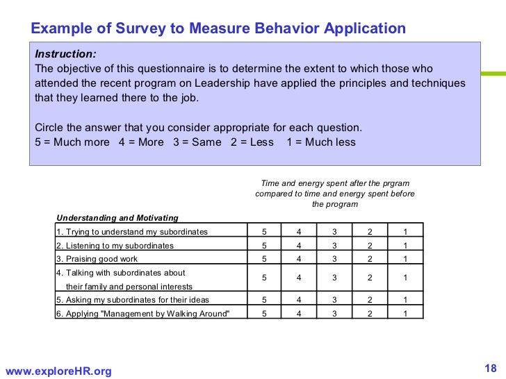 Sample Training Survey Employee Engagement Survey Example Template