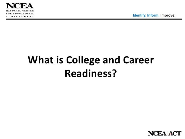 Measuring Progress Towards College and Career Readiness