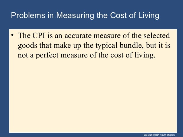 4 measuring the cost of living
