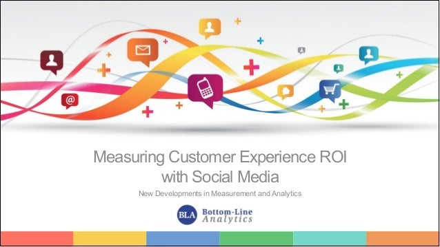 1 Measuring Customer Experience ROI with Social Media New Developments in Measurement and Analytics
