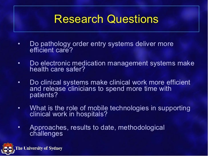 Measuring the Effectiveness of eHealth Initiatives in Hospitals Slide 3