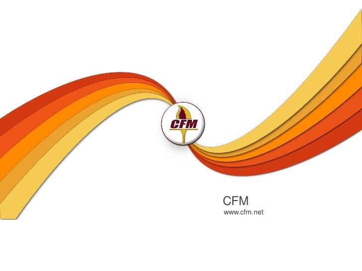 CFMwww.cfm.net