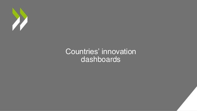 Countries' innovation dashboards