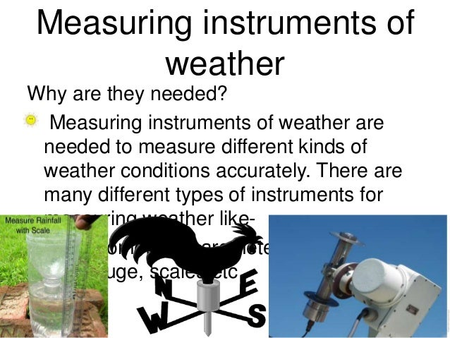 Measuring Instruments Of Weather
