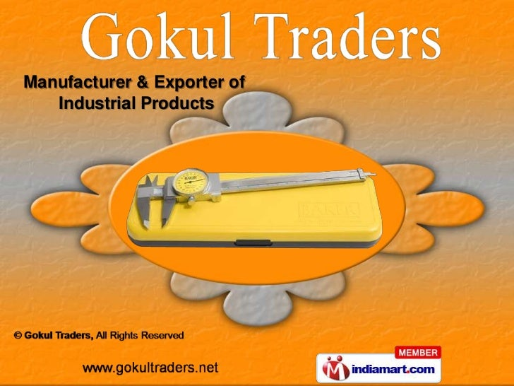 Manufacturer & Exporter of   Industrial Products