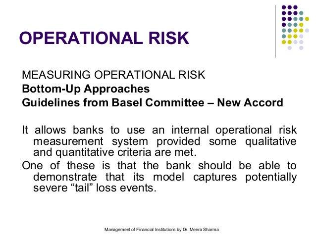 MEASURING OPERATIONAL RISK DOWNLOAD