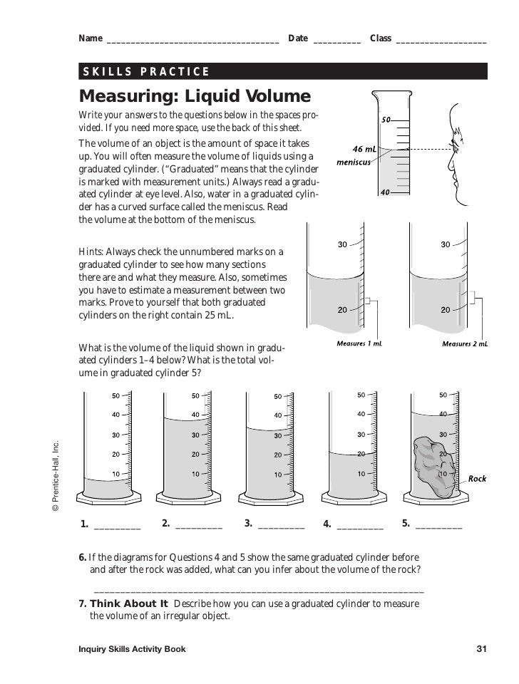 measuring liquid volume worksheet Edumac – Measuring Liquid Volume Worksheet