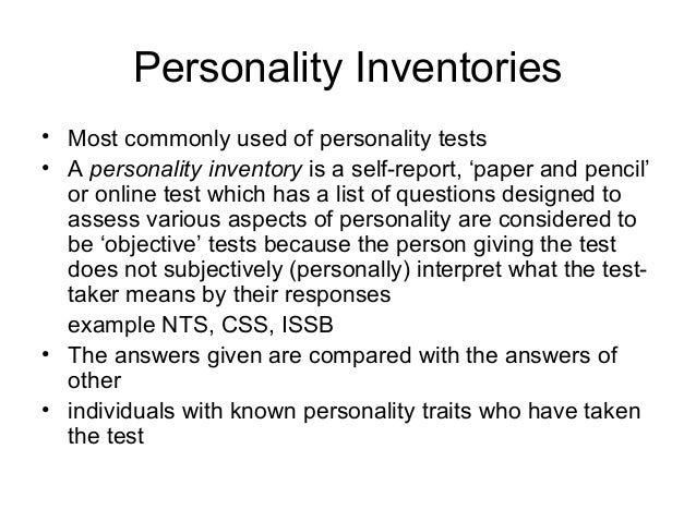 Compared to projective tests, personality inventories generally have: