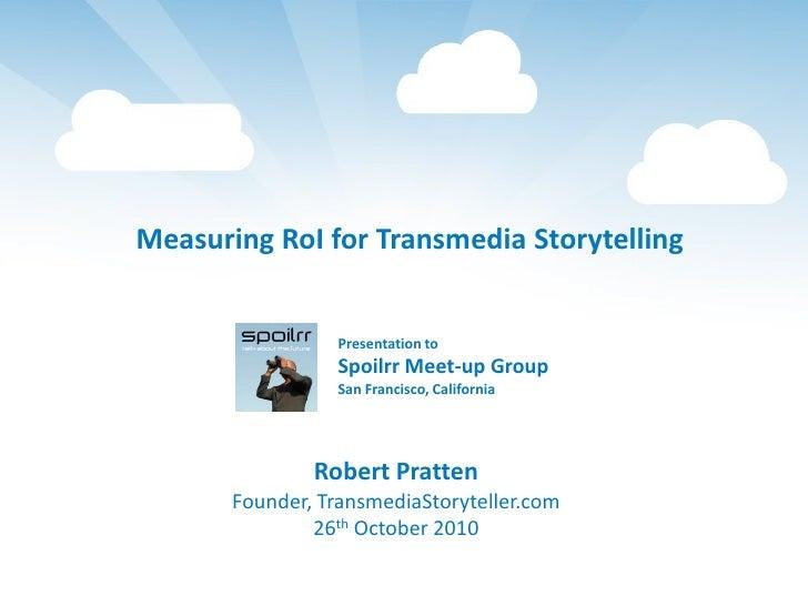 Measuring RoI for Transmedia