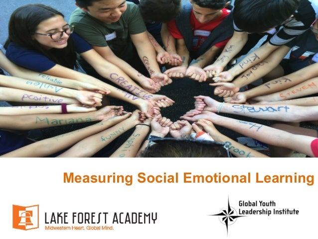 Measuring Social Emotional Learning