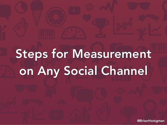 Measuring Success on Facebook, Twitter & LinkedIn Slide 2