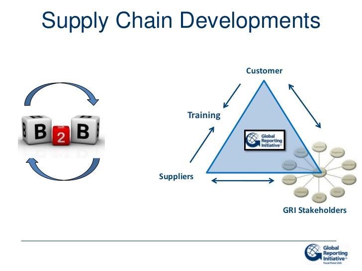 Supply Chain Developments                            Customer                 Training          Suppliers                 ...