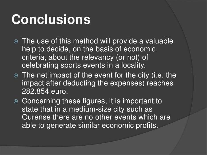 sports event on economic pdf