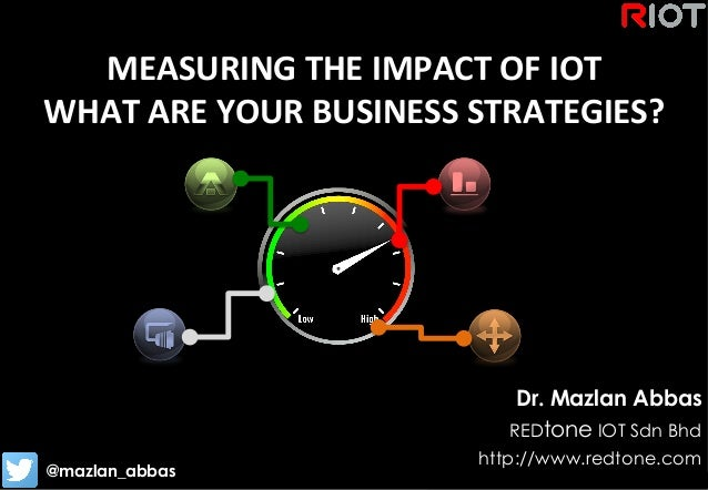 Copyright	   ©	   RIOT	   2015	   All	   Rights	   Reserved	    MEASURING	   THE	   IMPACT	   OF	   IOT	    WHAT	   ARE	  ...