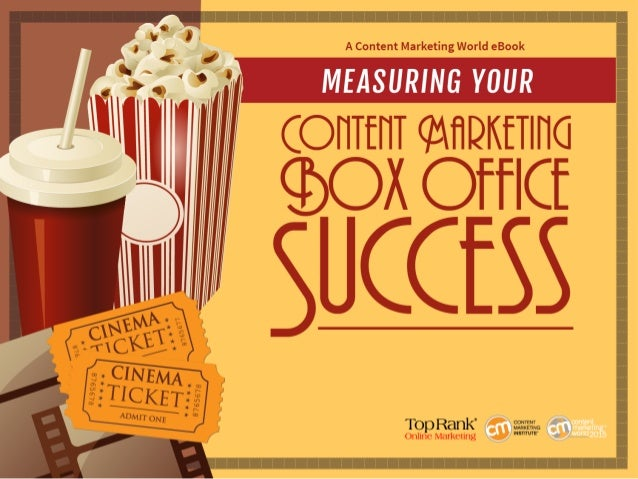 Joe Pulizzi Blockbuster Content ROI There are many contributors to the success of a movie. Everything from production to m...