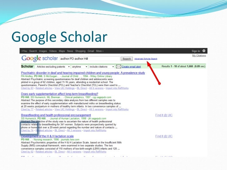 google scholar and pubmed as scholarly Pubmed, web of science, or google scholar criteria for inclusion as scholarly in google scholar results is based on publishers submitting information to google.
