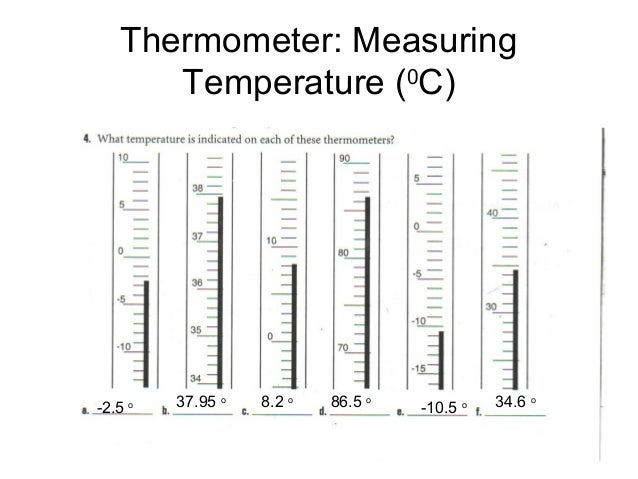 Measurement and conversion practice with answers – Measuring Temperature Worksheets
