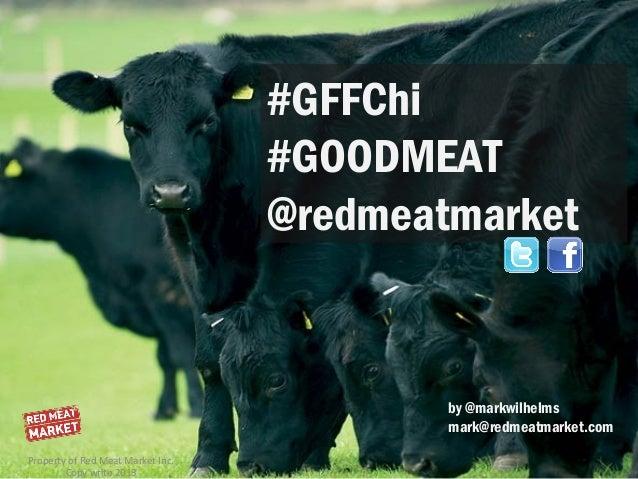 #GFFChi                                   #GOODMEAT                                   @redmeatmarket                      ...