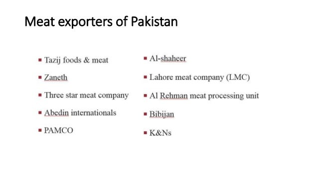 Meat industry and its scope