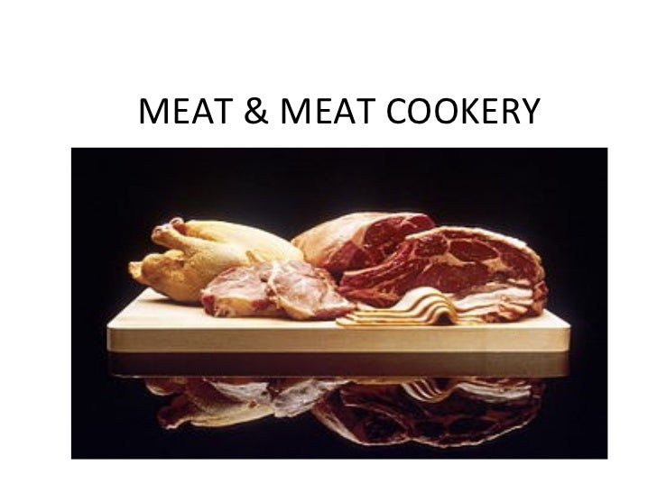 MEAT & MEAT COOKERY