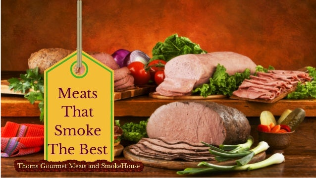 Meats That Smoke The Best
