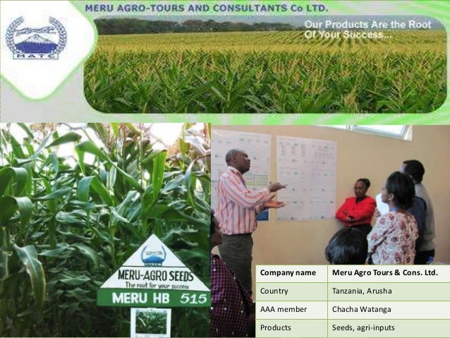 Image result for Meru Agro-Tours & Consultants Co. Ltd