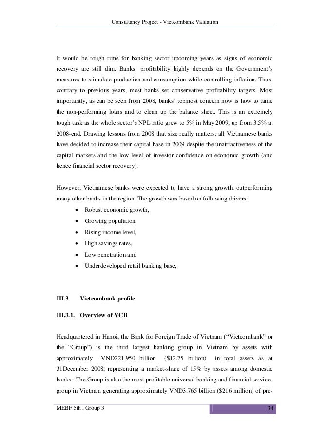 Master thesis banking and finance