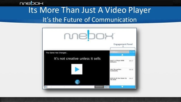 Its More Than Just A Video Player It's the Future of Communication