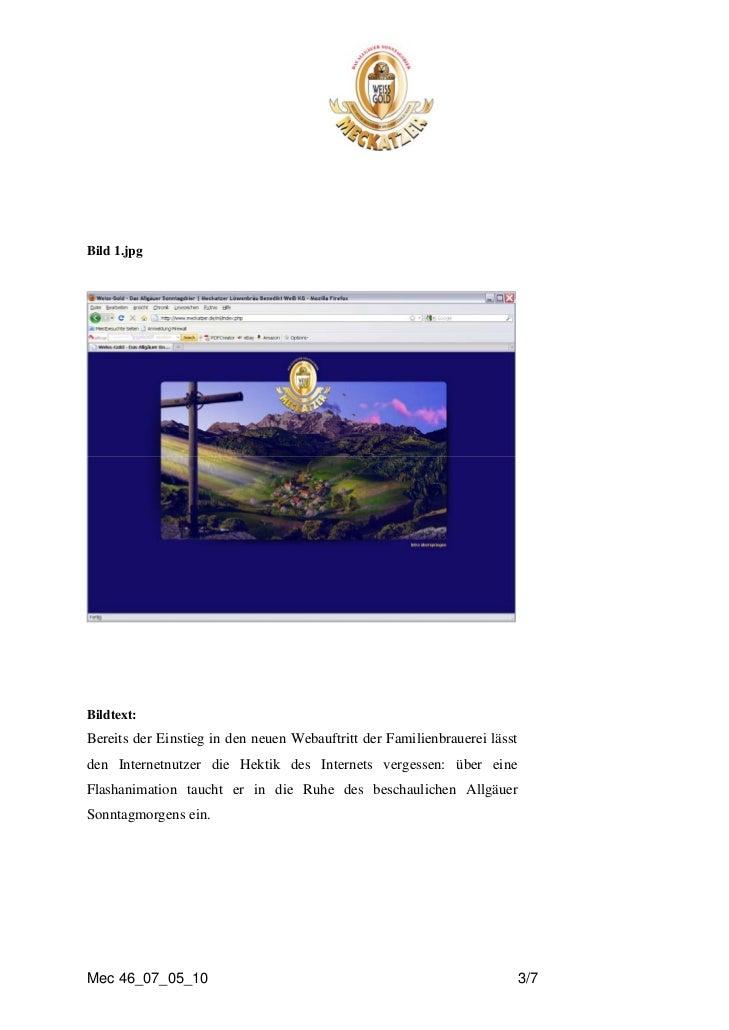 Bild 1.jpgBildtext:Bereits der Einstieg in den neuen Webauftritt der Familienbrauerei lässtden Internetnutzer die Hektik d...