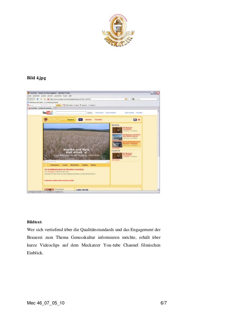 Bild 4.jpgBildtext:Wer sich vertiefend über die Qualitätsstandards und das Engagement derBrauerei zum Thema Genusskultur i...