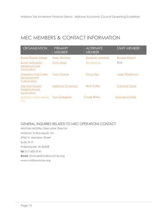 MEC Charter Document